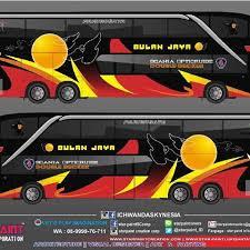 Download Livery Bus Bulan Jaya
