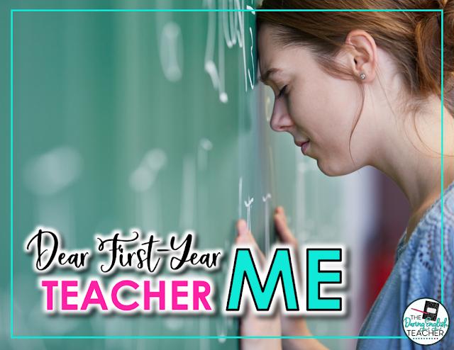 Dear First-Teacher Me: An open letter to first-year teachers everywhere