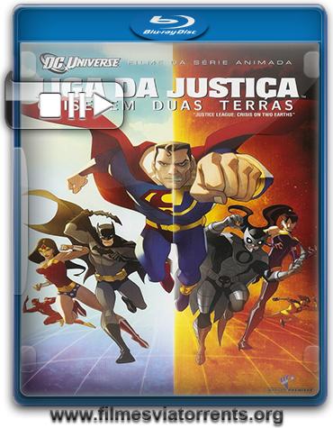 Liga da Justiça: Crise em Duas Terras Torrent - BluRay Rip 720p e 1080p Dual Áudio 5.1 (2010)