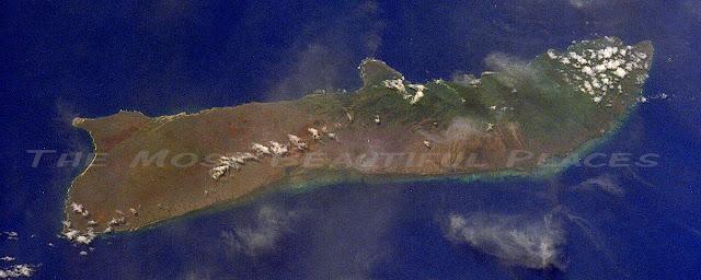Molokai-island-aerial-view
