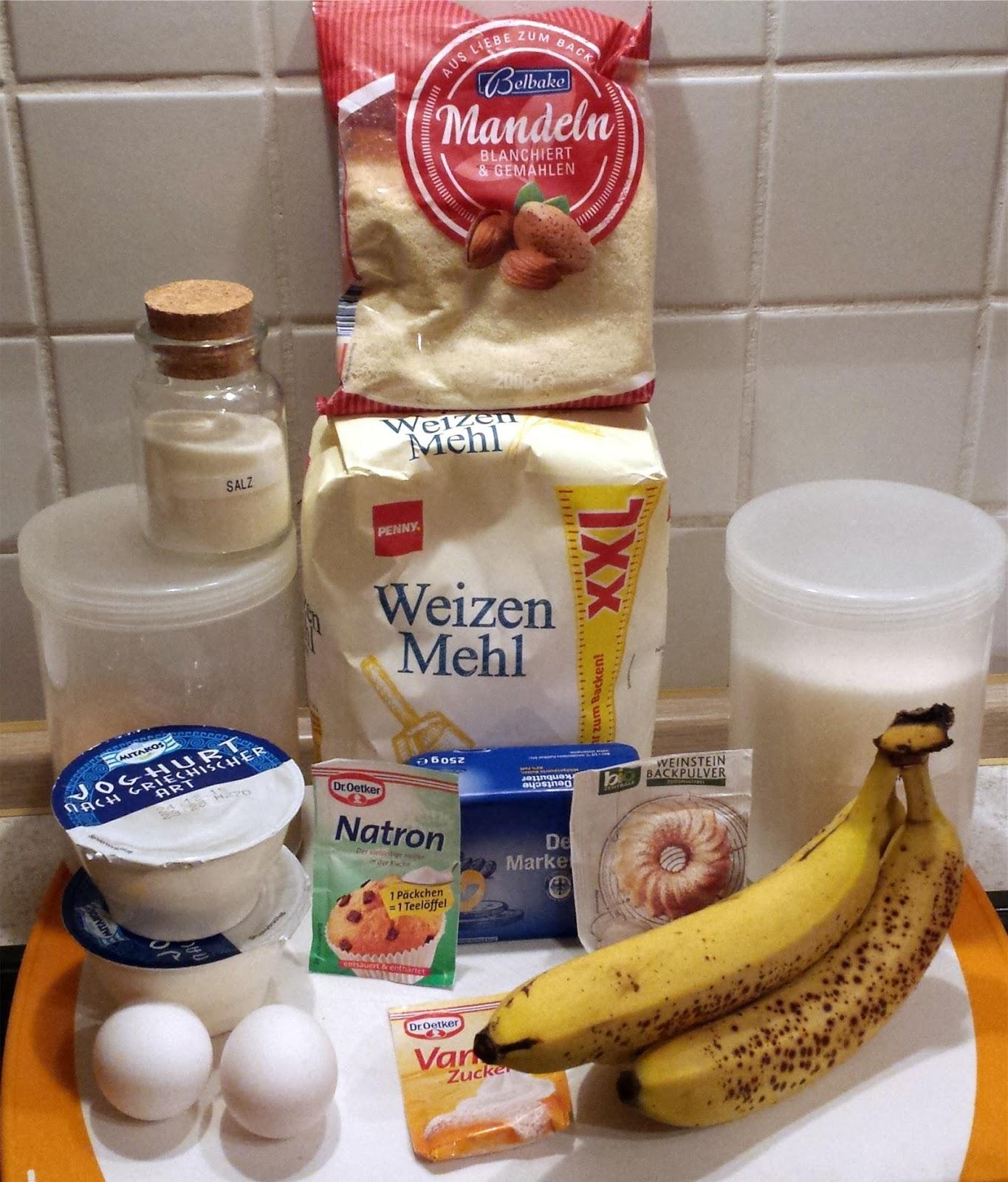 Bananen Joghurt Kuchen