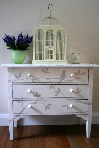 Lilyfield Life Bird On A Branch Chest Of Drawers