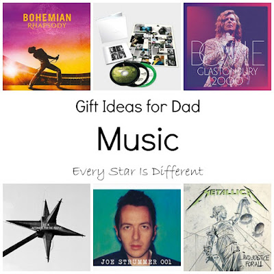 Gift Ideas for Dad-Music