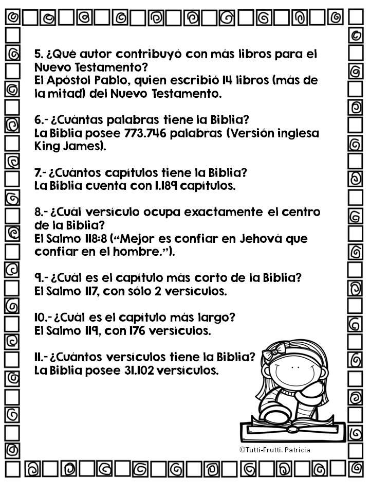 Tutti-Frutti : MES DE LA BIBLIA: \
