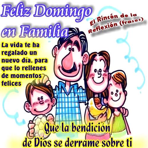 Feliz Domingo en Familia