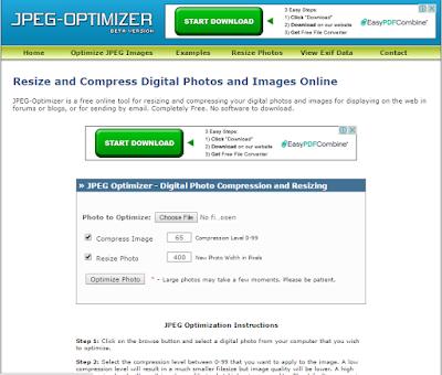 Cara Memperkecil / Kompres Ukuran Foto HD Tanpa Mengurangi Kualitas