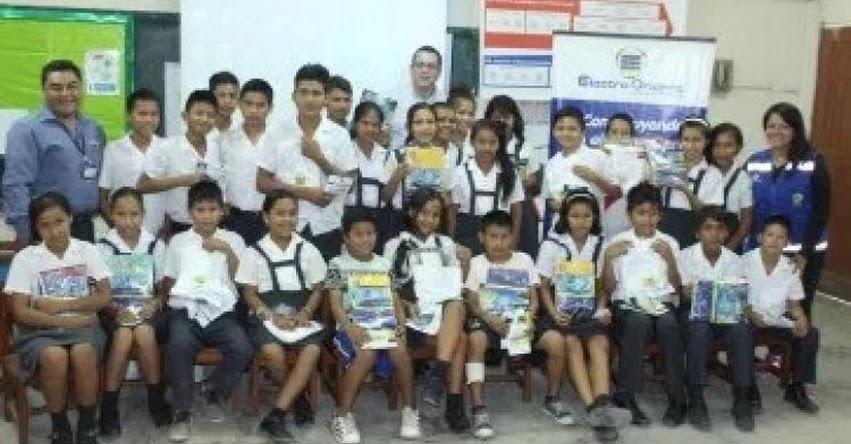 Electro Oriente realizó campaña de orientación sobre «riesgo eléctrico» en colegios primarios