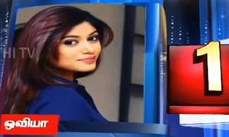 Manam Kavarntha Naayaki | Oviya | Thanthi Tv