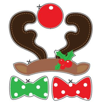 http://www.partydelights.co.uk/images/christmas/christmas-printables/ChristmasRudolphProps.pdf
