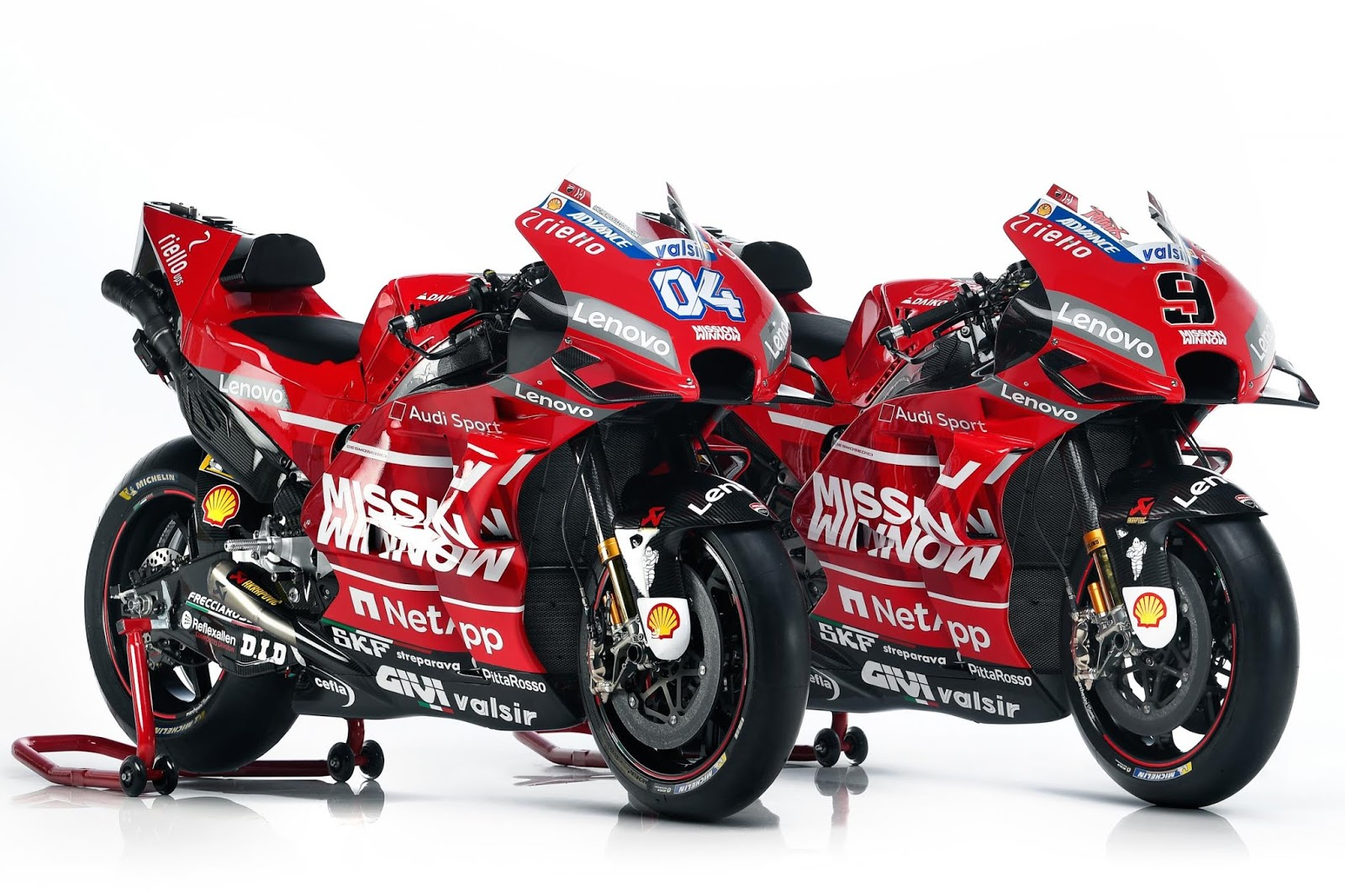 MotoGP : Galeri Foto high resolution Livery Ducati 2019