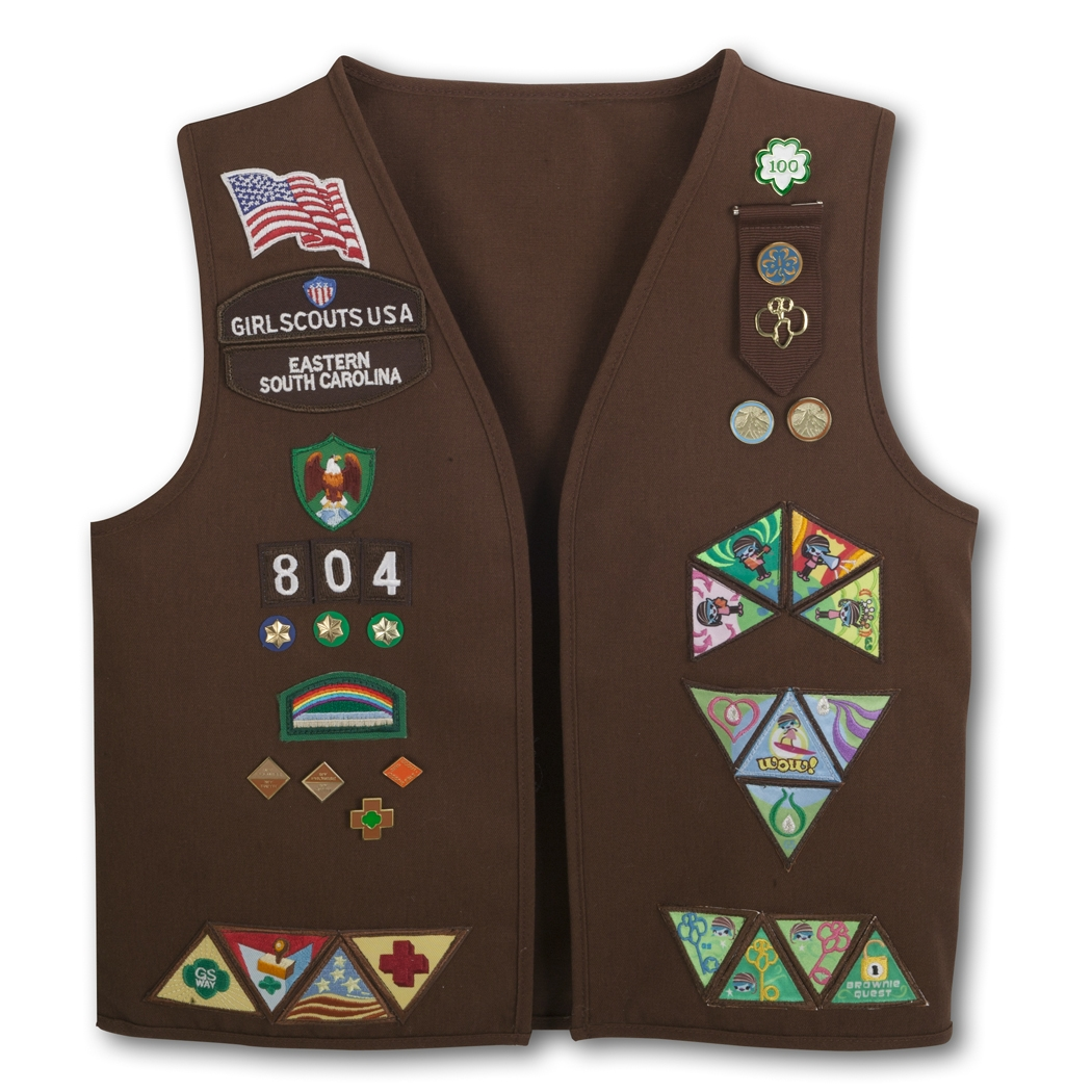 Brownie Uniform Vest 6
