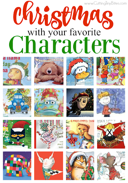 Celebrate Christmas with your favorite characters! Great books for toddlers, preschoolers, and elementary kids with characters like Otis, Madeline, Pete the Cat, Corduroy, and more!