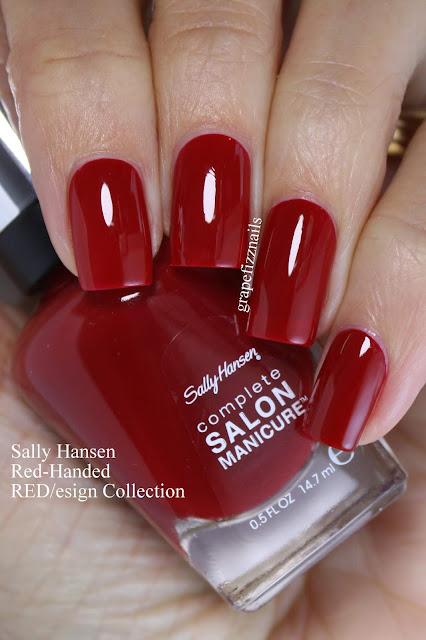 Sally Hansen Red-Handed