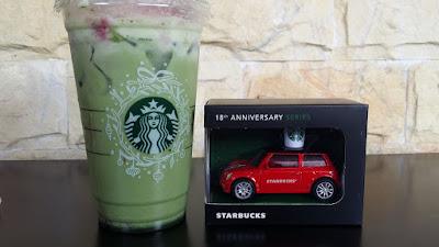 Starbucks Malaysia Miniature Car