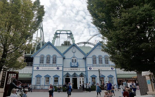 Photo of Scandinavian Building Facades Theming at Liseberg