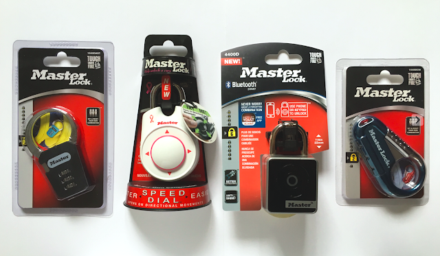 Master Lock - Bluetooth, Speed Dial, Backpack Padlocks