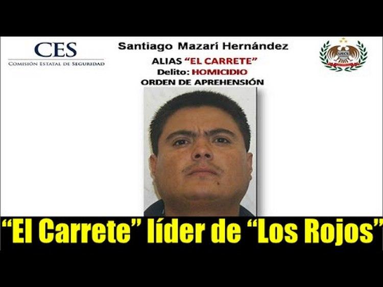 """El Carrete"""" autor del lanzamiento de 16 cuerpos desmembrados en lo que va del año en MORELOS"""