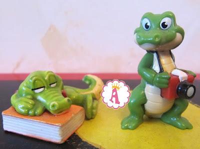 Крокодилы в киндер сюрпризах