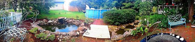 #DIY #River #WaterGarden #WaterFeature #Waterfall #Cottage #Garden #Ponds