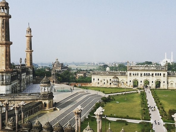 Lucknow_Eye_View_from_Bada_Imambara,Lucknow