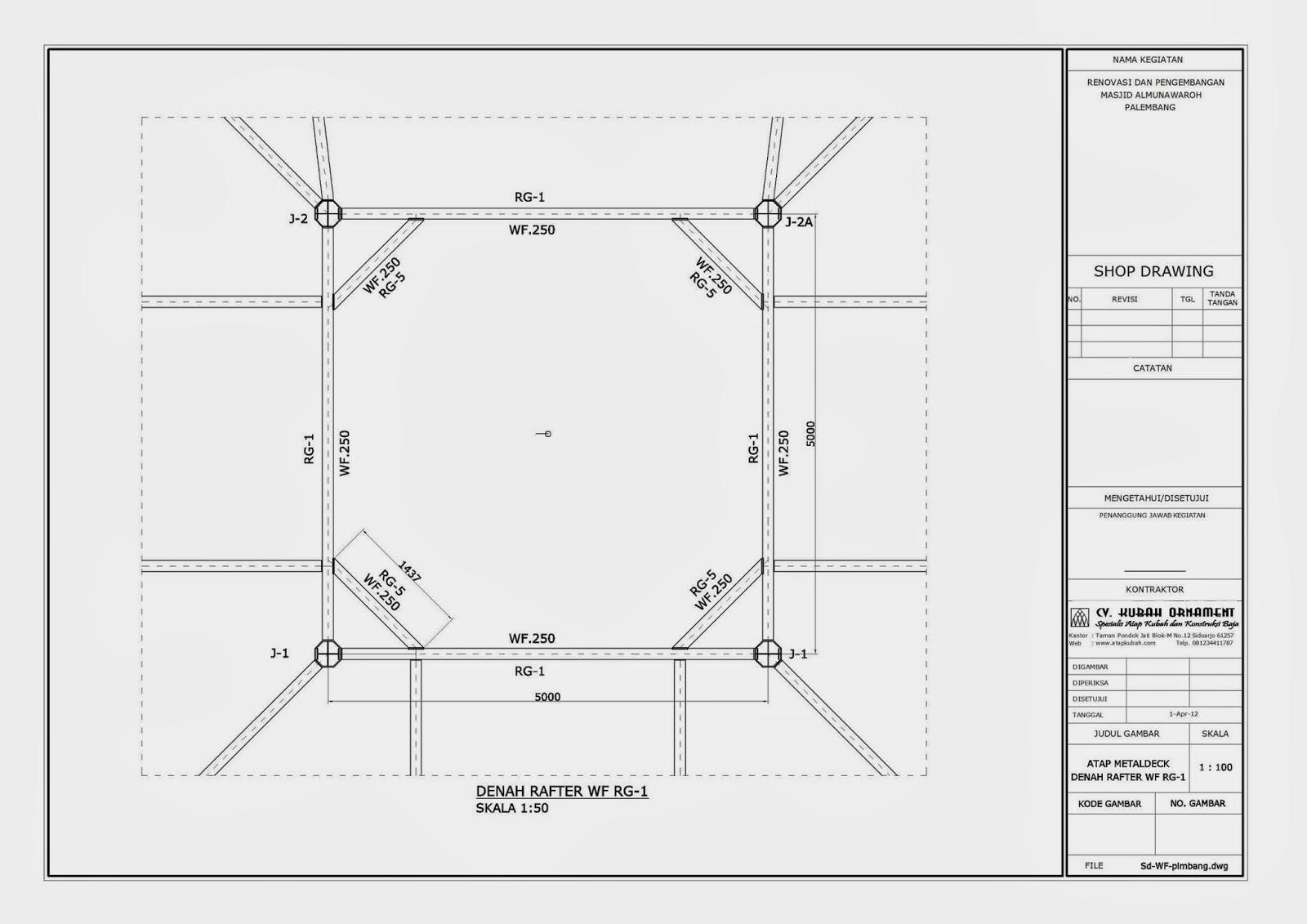 17 Desain Atap Baja Wf Motif Terbaru