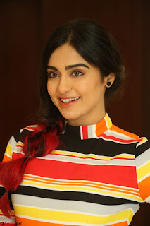 Adha Sharma in a Cute Colorful Jumpsuit Styled By Manasi Aggarwal Promoting movie Commando 2 (116).JPG