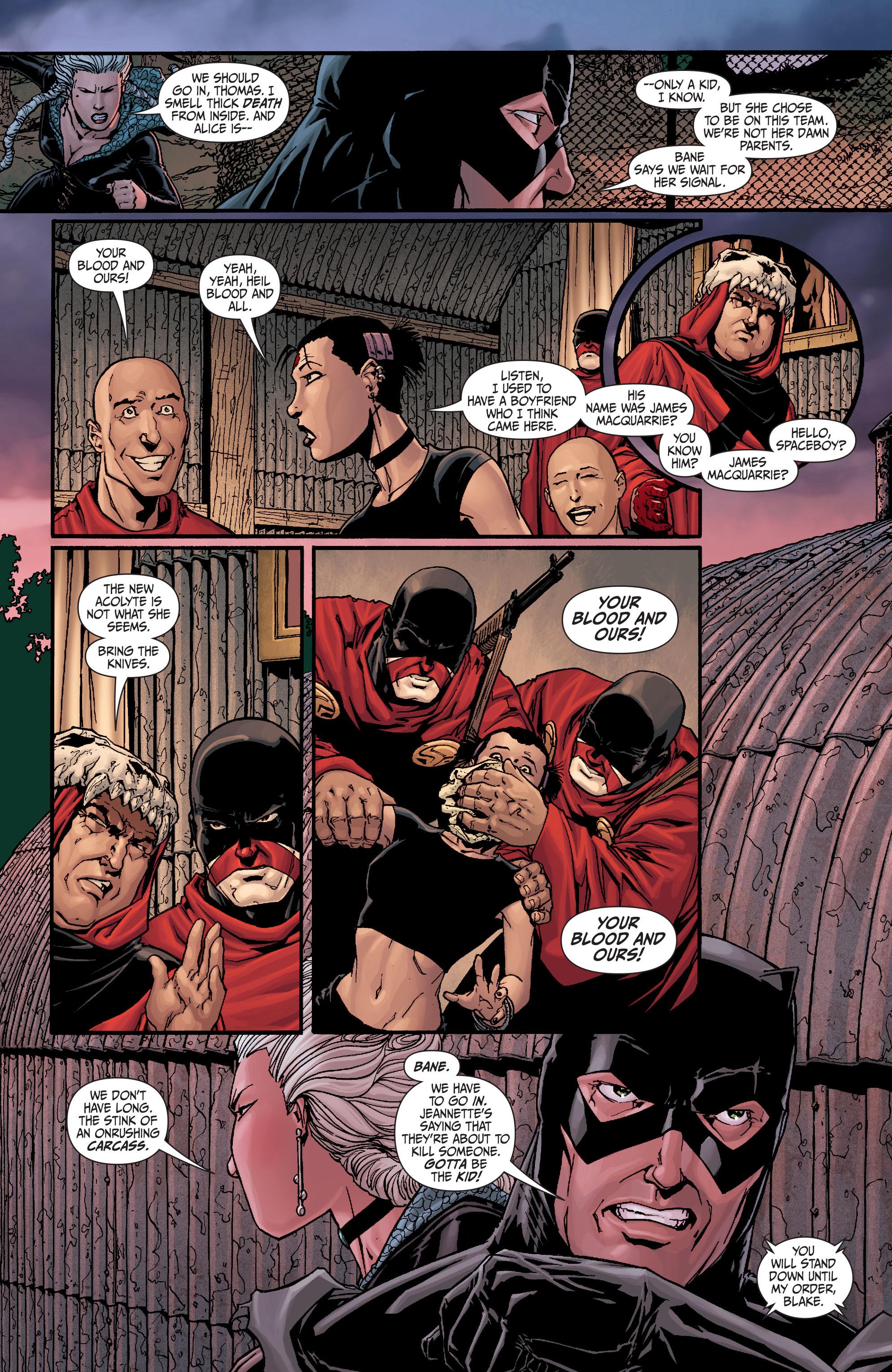 Read online Secret Six (2008) comic -  Issue #19 - 6