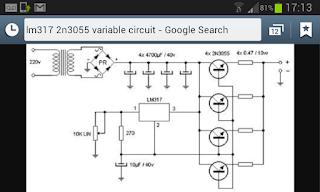LM317 & 2N3055 Variable Circuit Problems need help ! - diyAudio