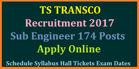 Telangana TRANSCO Electrical Sub Engineer Recruitment 174 Vacancies Details Apply Online