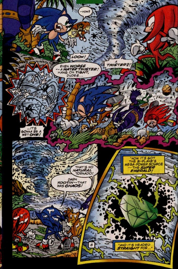 Read online Sonic The Hedgehog comic -  Issue #83 - 6