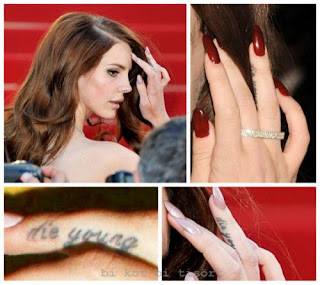 lana del rey tattoo die young - photo #1
