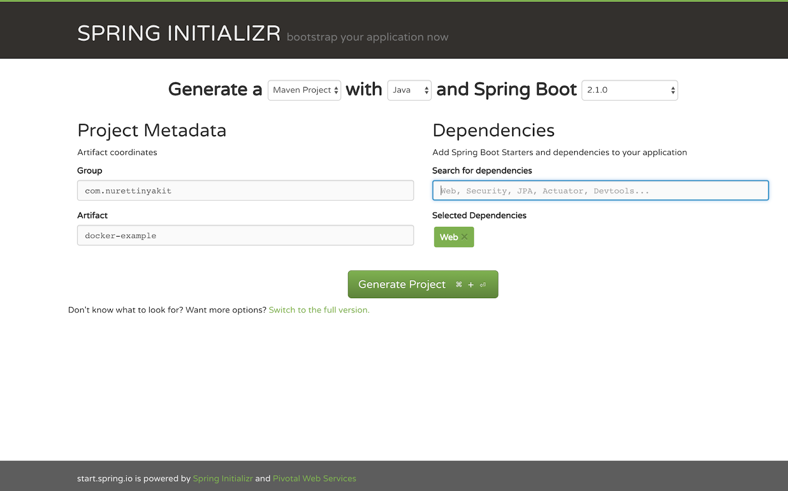 How Dockerize a Spring Boot Java Application or Run Spring Boot Application on Docker