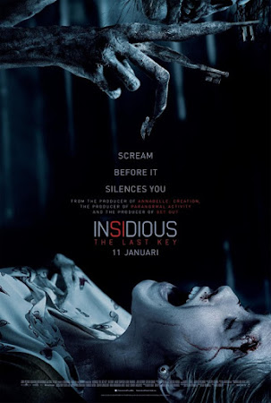 Poster Of Insidious: The Last Key In Dual Audio Hindi Spanish 300MB Compressed Small Size Pc Movie Free Download Only At worldfree4u.com
