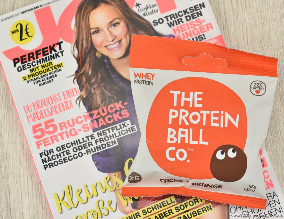Pink Box Oktober 2017 Girl Power - The Protein Ball Co.