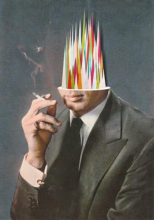 Los Collages de Matthieu Bourel, un Francés en Berlín