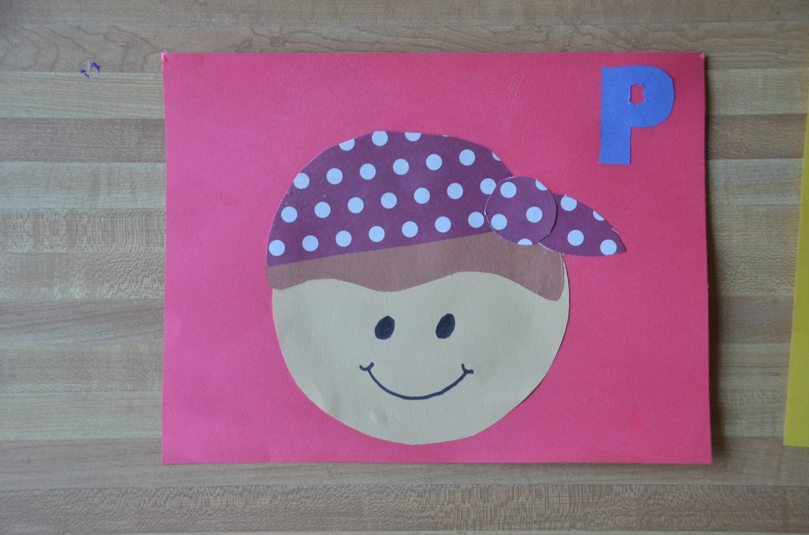 Aunt Tami S House Learning The Alphabet Letter P