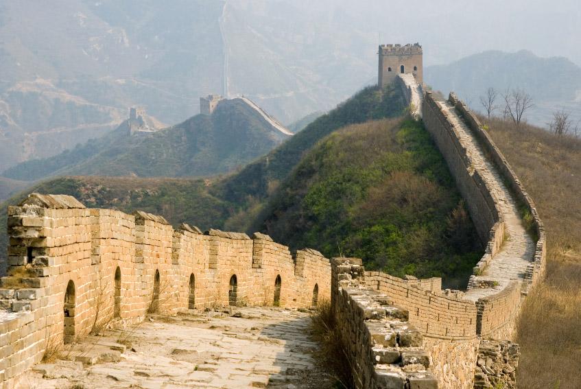 La Gran Muralla China de Simatai