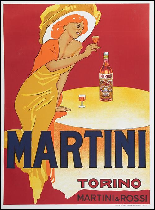 Martini Torino By Marcello Dudovich