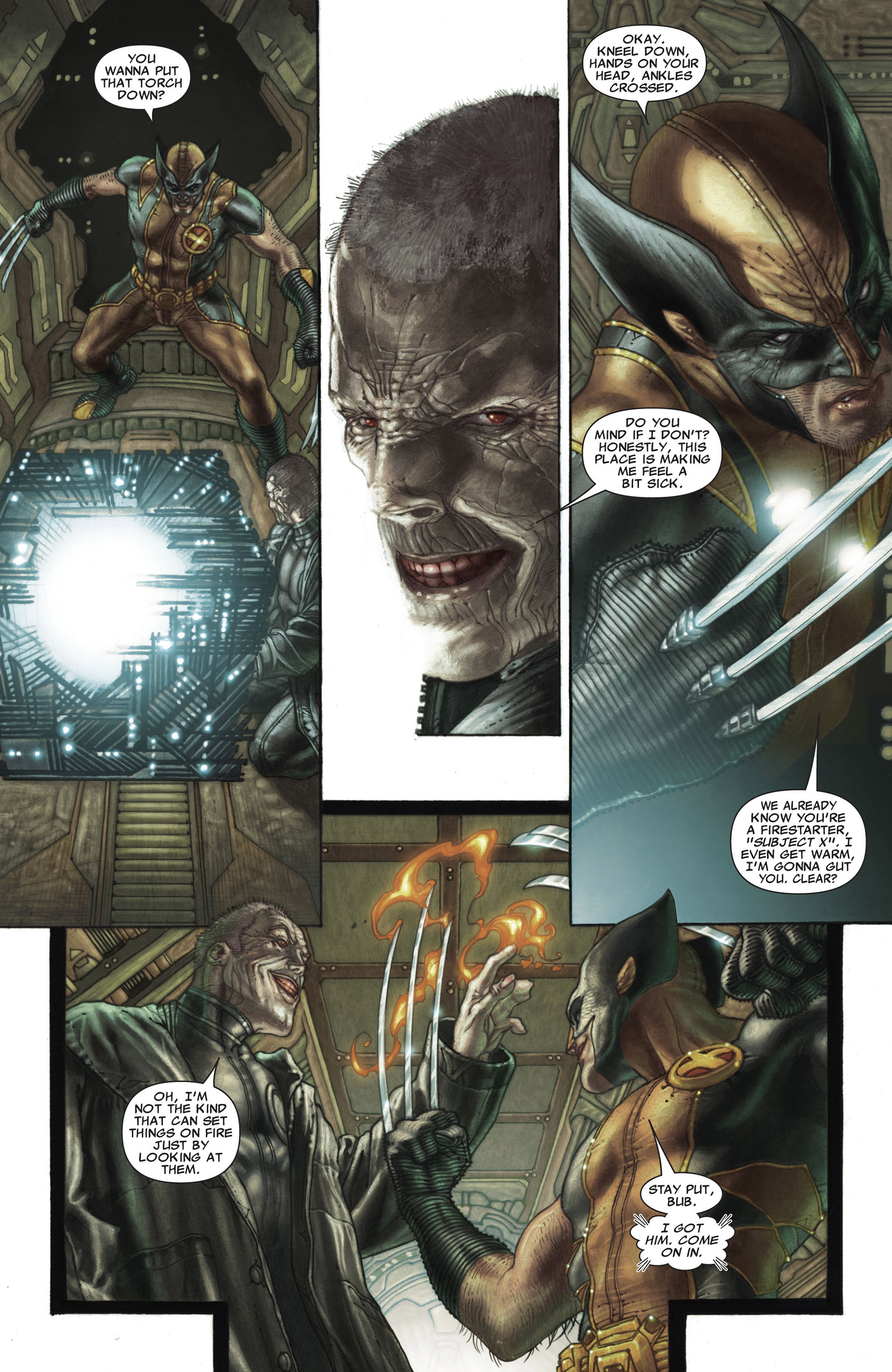 Read online Astonishing X-Men (2004) comic -  Issue #26 - 12