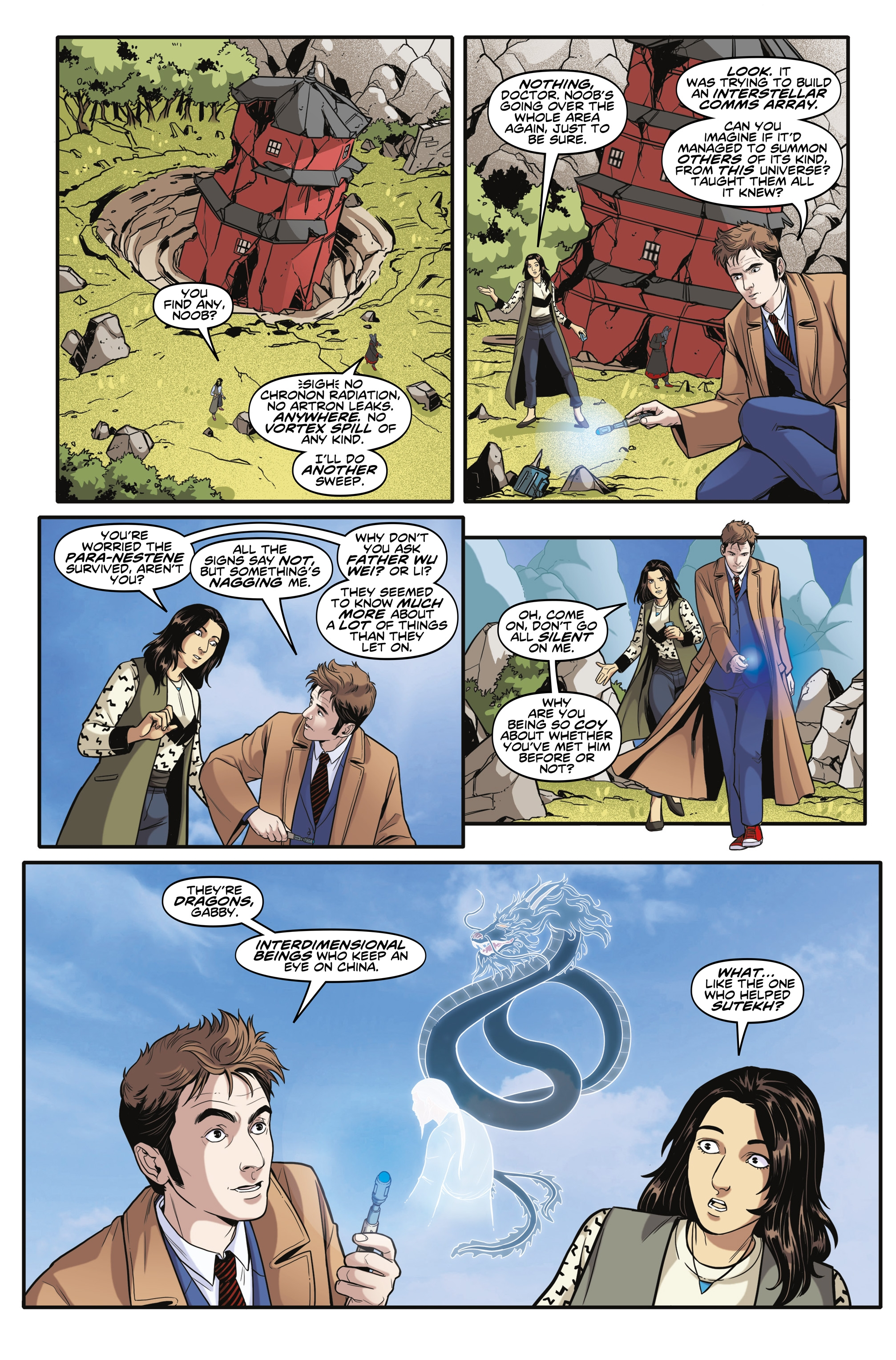 Read online Doctor Who: The Tenth Doctor Year Three comic -  Issue #6 - 7