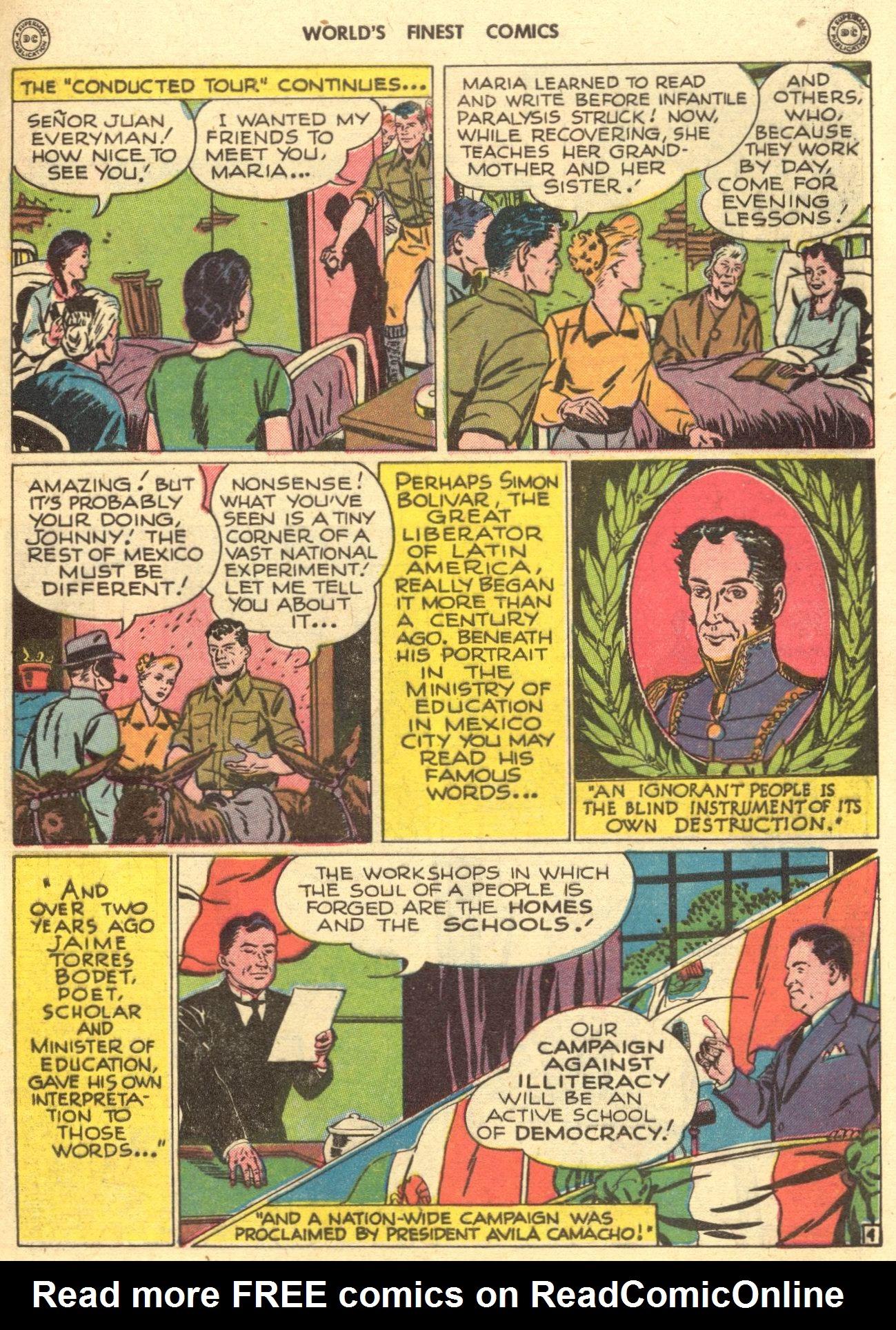 Read online World's Finest Comics comic -  Issue #28 - 54