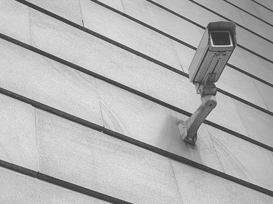 black and white photography, urban, cctv, urban photo, contemporary, Sam Freek