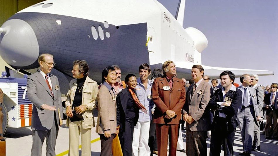 Vá corajosamente: Astronautas honraram Leonard Nimoy