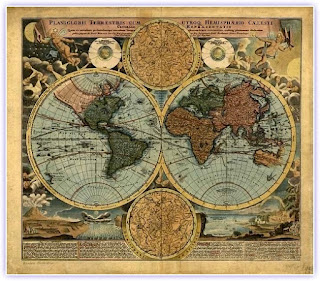 Dünyanın En Eski Tam Dünya Haritası