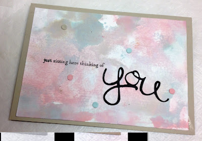 Card made using blushing bride,Soft  Sky, Sahara Sand by Stampin' up! Australia - zena kennedy,
