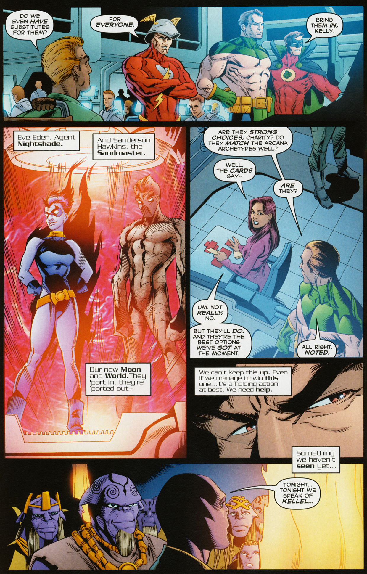 Read online Trinity (2008) comic -  Issue #34 - 5