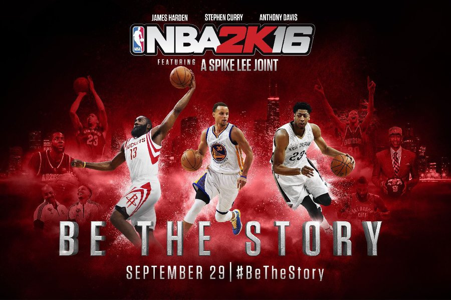 NBA 2K16 ON Sep 29 2015