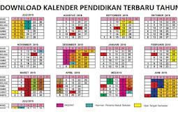 Download Kalender Pendidikan SD SMP SMA dan SMK 2018 2019. www.kemendikbud.co.id