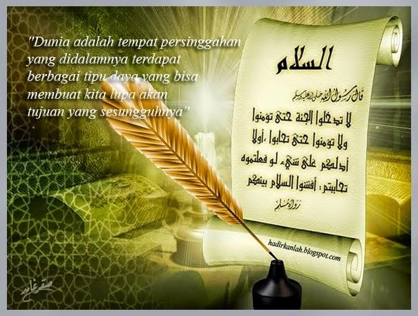 catatanku kumpulan kata kata islami sangat menyentuh hati