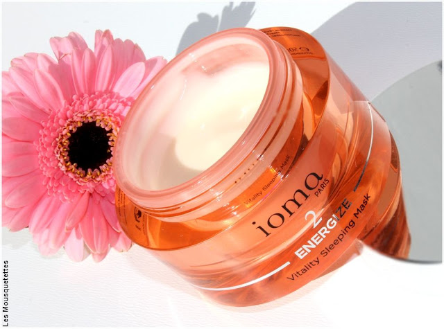 Vitality Sleeping Mask de ioma Paris - Blog beauté